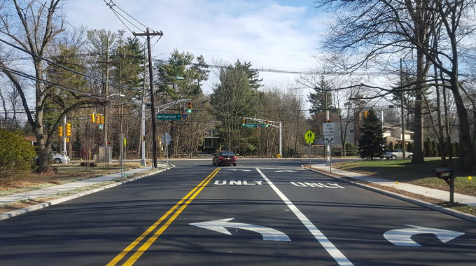 Intersection Improvements At Plainfield Road And Park Avenue In Edison Township, NJ