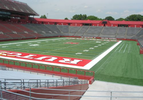 Rutgers University NCAA Football Field