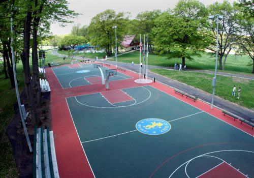 Weequahic Park Basketball Courts